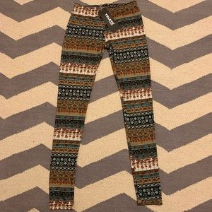 Pants - Patterned leggings